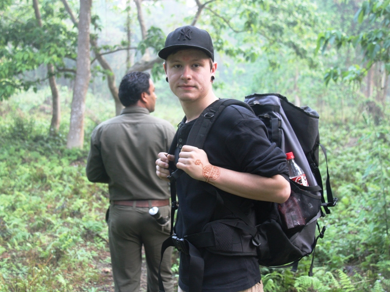 Wandern Dschungel Tharu
