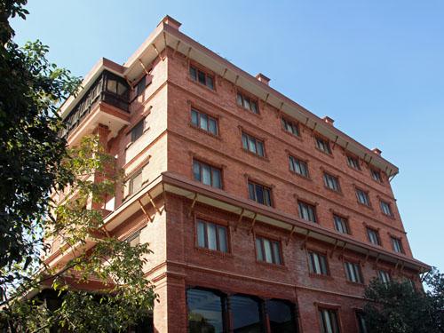 Fassade Hotel Kathmandu