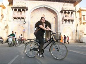 Fietsen Jaipur