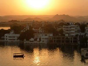 Rondreis India en Nepal - Zonsondergang