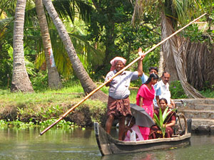 india backwaters kerala