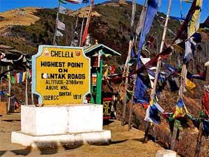bhutan chelela pass
