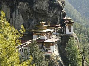 Tiger's nest Bhutan Paro