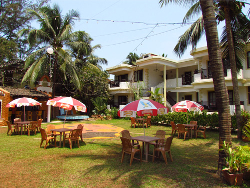 boutique hotel goa tuin
