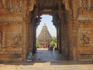 india chittorgarh hindu tempel