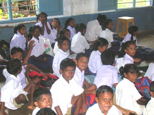 india classroom inside