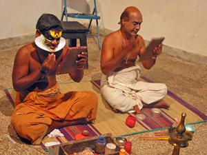 Cochin Kathakali dans