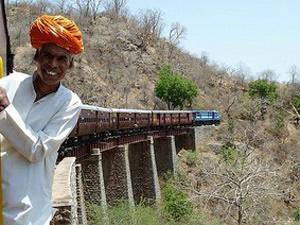 Noord India en Goa - trein