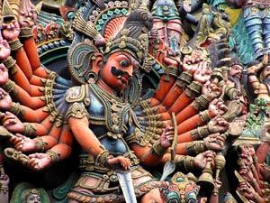 detail tempel india