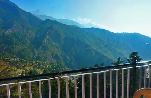 dharamsala hotel uitzicht
