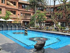 india nepal dwarikas zwembad