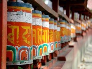 gebedsmolens Ladakh India
