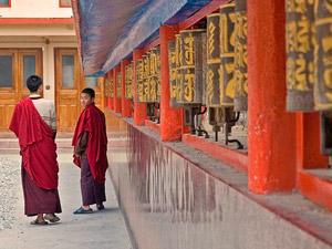 Gebedsmolen Sikkim