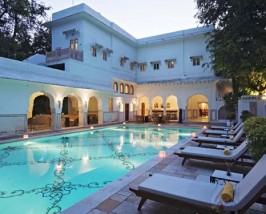 india hotel samode bagh zwembad