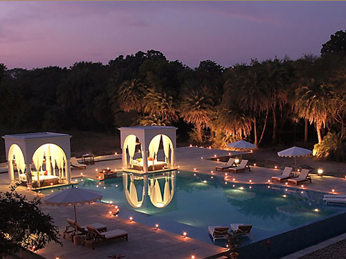 india hotel shahpura avond