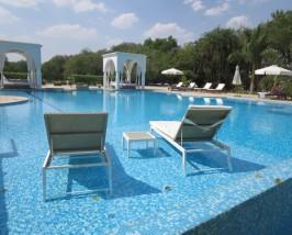 india hotel shahpura zwembad