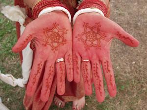 india henna versiering