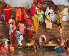 Heilige taferelen aan de Ganges