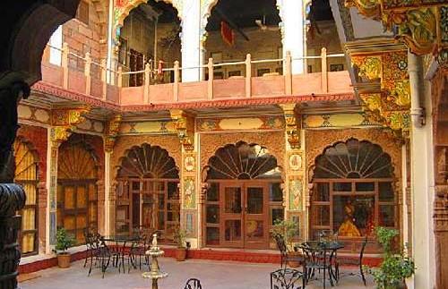 india jodhpur hotel patio