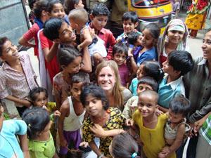 india kinderen reiziger