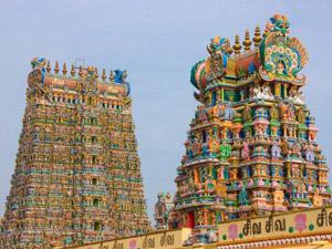 madurai meenakshi tempels India