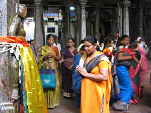 madurai tempel tafereel