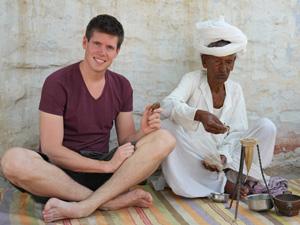 noord india reizen platteland