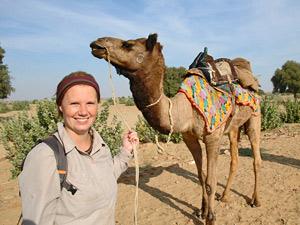 rajasthan kamelensafari jaisalmer india
