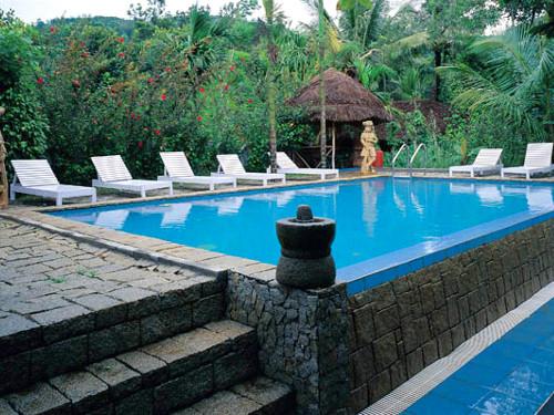 thekkady heritage hotel zwembad