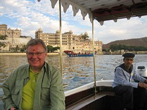 udaipur rajasthan boottocht india