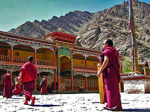 india hemis monniken
