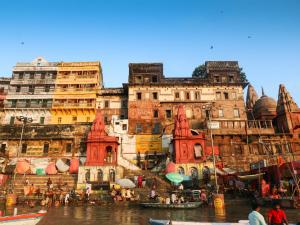 Aan de rivier Ganges