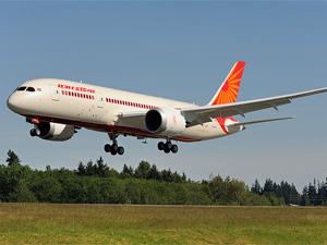 vliegtuig india