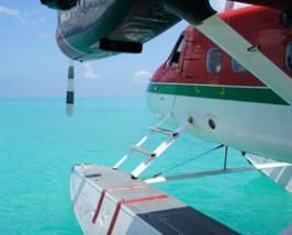 watervliegtuig malediven