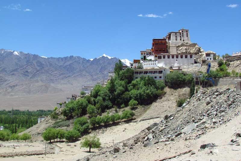 Thiksey klooster Himalaya - reizen India