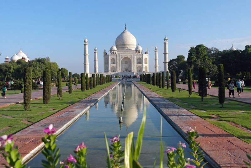 India vakantie - Taj Mahal
