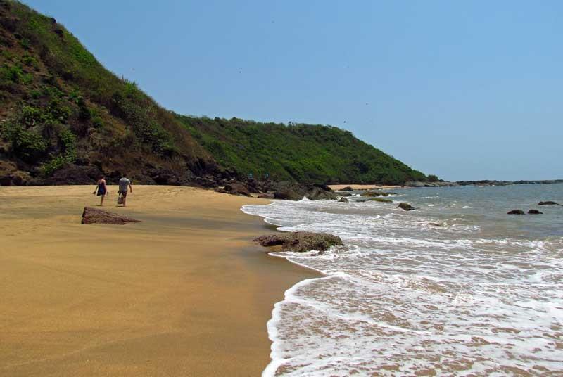 Dwarka beach in Goa India