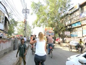Fietsen Delhi