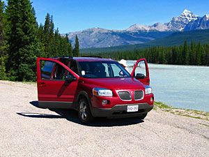 vervoer Canada - autohuur canada reis