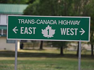 vervoer in Canada: Canada rijden