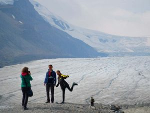 Canada Athabasca gletsjer