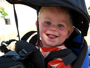 reistips Canada met kinderen - rugdrager
