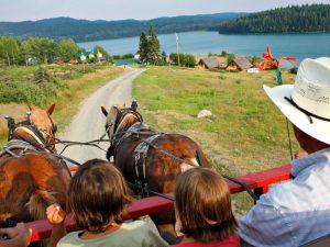Canada ranch paardrijden