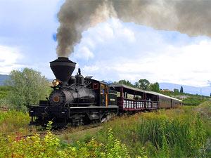 gezinsreis Canada - trein Okanagan valley