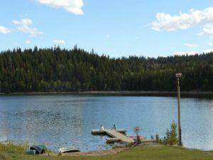 Canada ranch meer