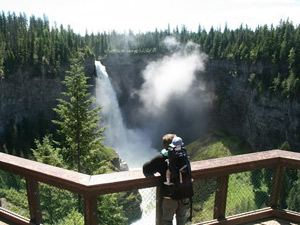 wells gray waterval canada