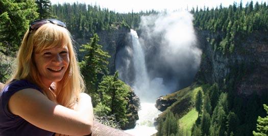 Helmcken falls - reizen Canada