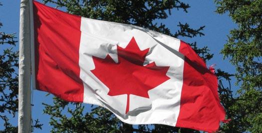 Rondreis Canada: vlag
