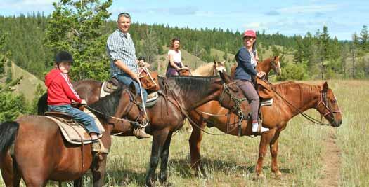 Paardrijden Canada reis