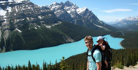 Peyto lake - reis Canada